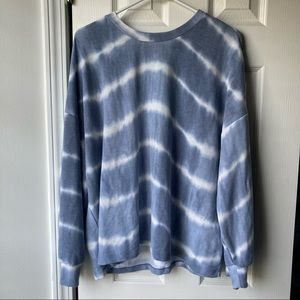 Kaileigh Lila Crew Neck Knit Top - Size XL